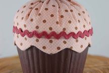 Cup cake stoffa