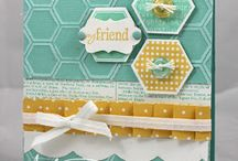 CARDS - Hexagon and other geometric / by Alex-PinkCraftyMama