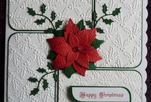 scrape booking Christmas cards