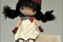 poupée ;vétements crochet