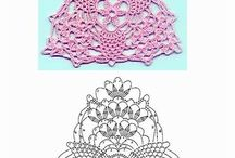 Crochet squares/triangles