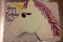 Baking / Unicorn cake