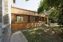 Fenêtres réalisées par l'ATELIER DU BOIS (81) Prix Forestarn 2015
