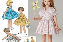 Childrens patterns material ect