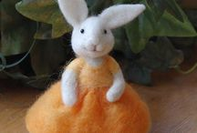 Needle Felting Cuties / by Kathi Woodle