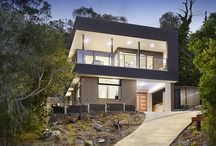 Latitude 37: Cook Custom Home Project / Our Cook Street custom home project involved a challenging sloping site which also carried the highest possible bushfire rating meaning the footprint and materials available for this home was highly restricted. The end product is the perfect holiday home for our clients that capitalises on the vast views of the Mornington Peninsula, Queenscliff and beyond.