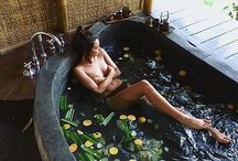 Bathing relaxation and healing