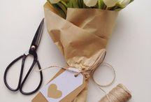 tulipany z materiału