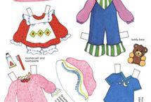 Куклы бумажные