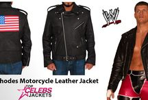 Cody Rhodes Motorcycle Leather Jacket