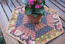 Table toppers/ Runners and Wallhanging / by Bonnie Perry