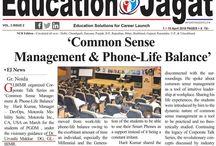 "Media Coverage  ""Common Sense Management & Phone-Life Balance in Education Jagat"