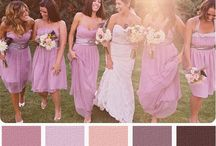 Bridal Party Colors / by Fiori Bridal