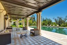 Outside Dining Areas / A collection of pictures of stunning outside spaces, including eating areas, outside lounges and terraces - Private Property