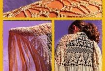 Mantones / Mantones y otros de crochet