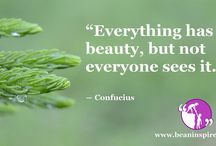 Beauty Quotes / Be An Inspirer - Spread the Inspiration Visit - www.beaninspirer.com for more.