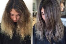 Colour hair transformation