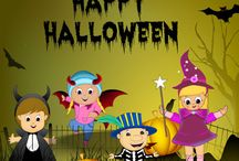 Spooky Festive Time of Halloween / Enjoy the spooky festive time of Halloween, which means it's time to help you little ones become little ghouls!