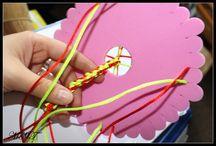 Kumihimo / Ręcznie wykonana biżuteria ze sznureczków zaplatanych na dyskach kumihimo - produkty dostępne w sklepie Craft Style