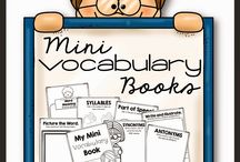 Vocabulary / by Glennda Davis