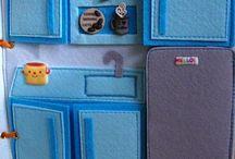 Libros infantiles textiles