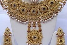 indian bridal jewellery designs. / Beautiful jewelry