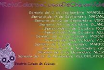 #RetoColoresCosasdeChicasVol.4 / Manicuras,Nail Art.
