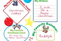 Printables - Christmas / by Guildcraft Arts & Crafts