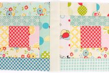 Quilty Fun by Lori Holt of Bee in my Bonnet / Projects from Lori Holt's new book, Quilty Fun!  Get your scrappy stash ready for some Quilty Fun! http://www.fatquartershop.com/quilty-fun-book