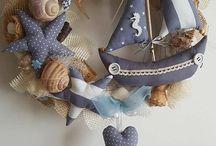 Mořské dekorace