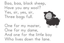 pre nursery rhymes / by Jennifer Nowak