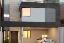 Fachadas casas jessy construcción