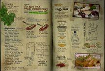 Jamie Oliver's garden / handbook pages