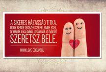 LOVE Esküvői idézetek / Esküvői idézetek szerelemről és összetartozásról, hogy jól induljon, jól folytatódjon, jobbá váljon a napod, és szebben zárd az estéd. www.love-eskuvo.hu