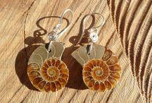 macrame and silver earrings by ARTEAMANOetsy