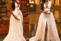 African weeding dresses