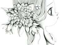 Рисунки маленьких девочек