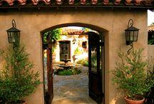 Puerta porche