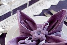 Napkin Folding / by Diane Davis
