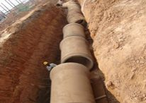 Drainage pipes manufacturer / We are pipe line construction company and we have done large amount of pipe line construction projects. Best drainage pipe manufacturer company.