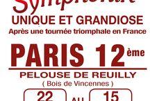 Cirque Arlette Gruss à Paris  / Pelouse de Reuilly - Bois de Vincennes 75012 Paris