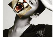COLLAGES - Spirit Animals / collages spirit animals humans character soul