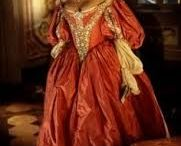 Louis XlV period's dresses