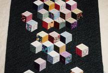 cubes et hexagones