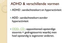 vormen van ADHD