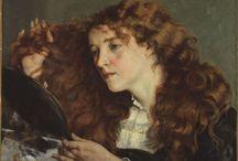 arte - Gustave Coubert (1819-1877) / arte - pittore francese