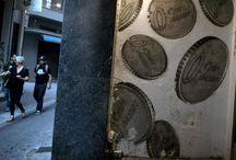 EURO den Bach hinunter