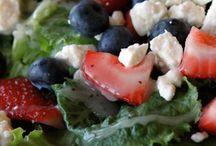 Salads / by Amanda Laine Dudley