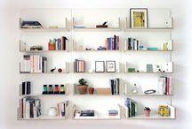Modern Wall Shelves / Various modern wall shelves from the world.