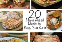 make ahead meals  / by Katelyn Neilsen